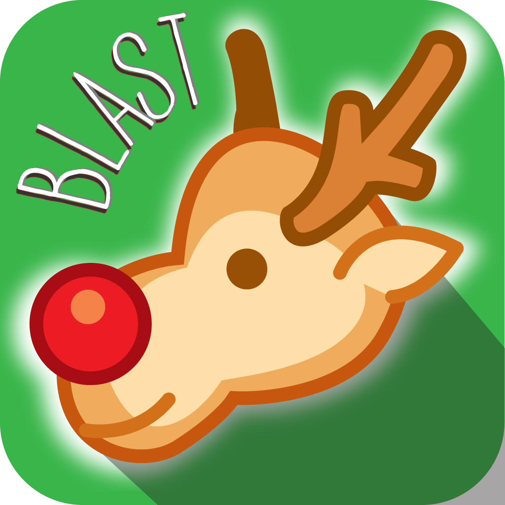 A Christmas Rudolph Reindeer Blast PRO - Swipe and match the Iconic of Happy New Year to win the puzzle games